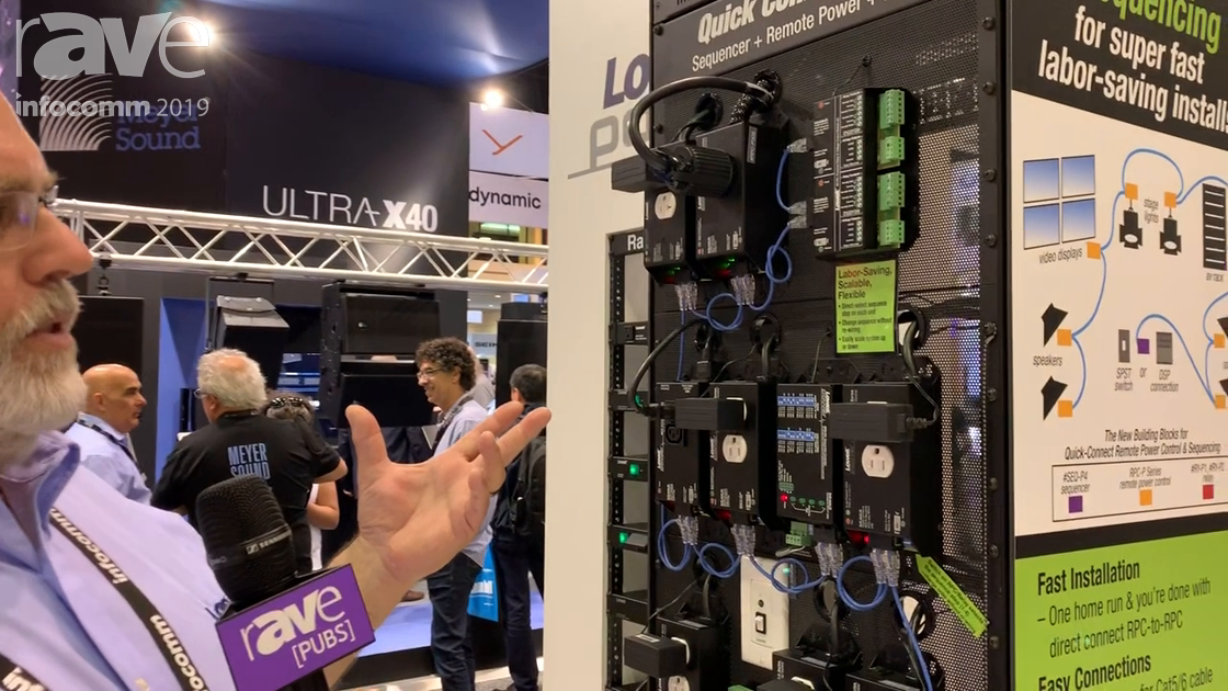 InfoComm 2019: Lowell Manufacturing Shows RPC-P Series Remote Power Control System