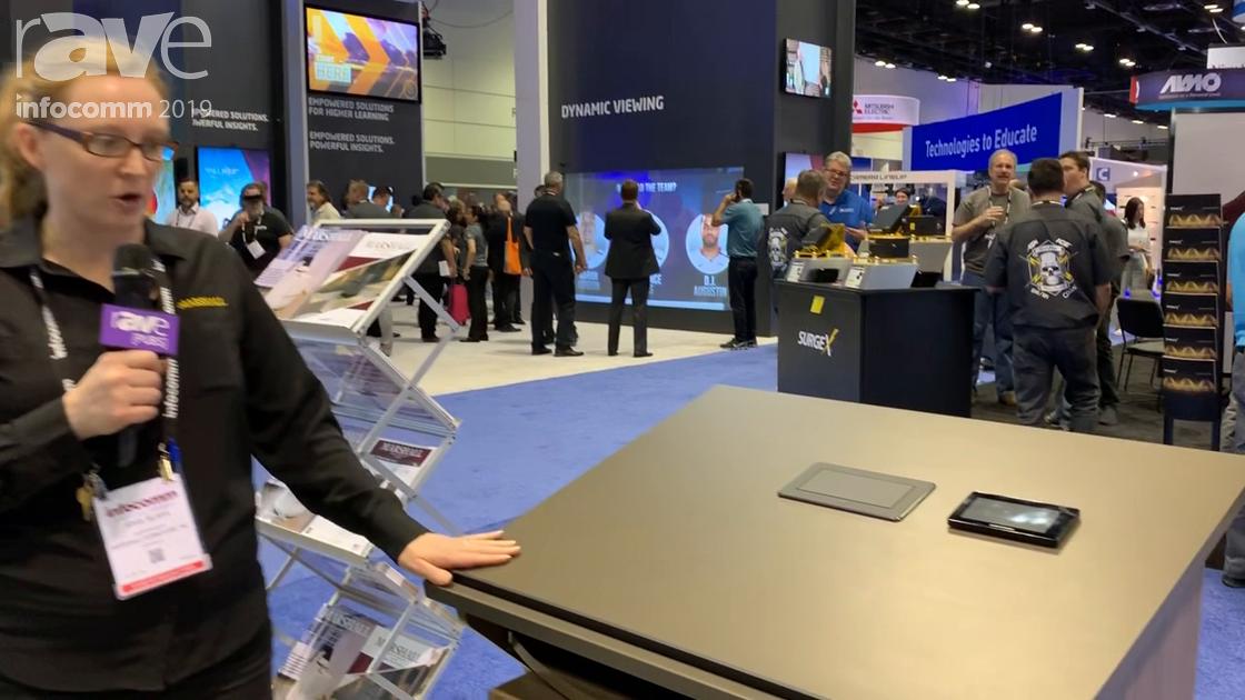 InfoComm 2019: Marshall Furniture Introduces LekTek36 Configurable Height-Adjustable Lectern