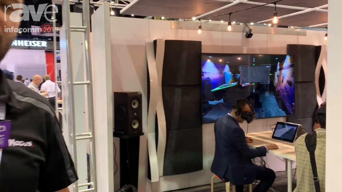 InfoComm 2019: Modus VR Shows Modus VR for AV Conference Room Sales at the Focal Booth