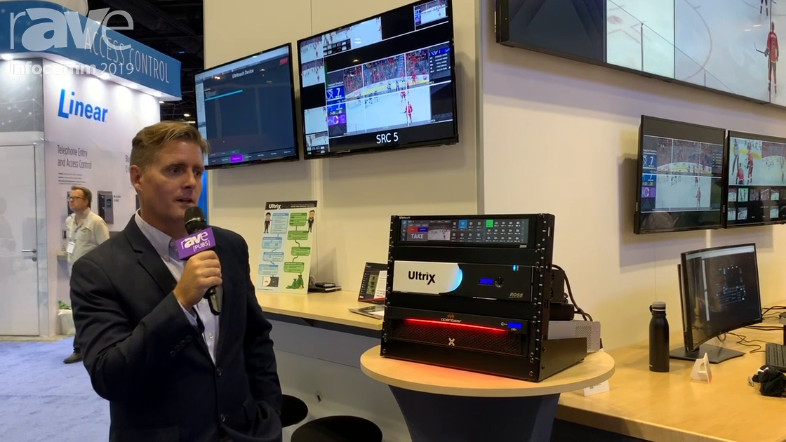 InfoComm 2019: Ross Video Limited Ultritouch 2RU System Control and Monitoring Panel