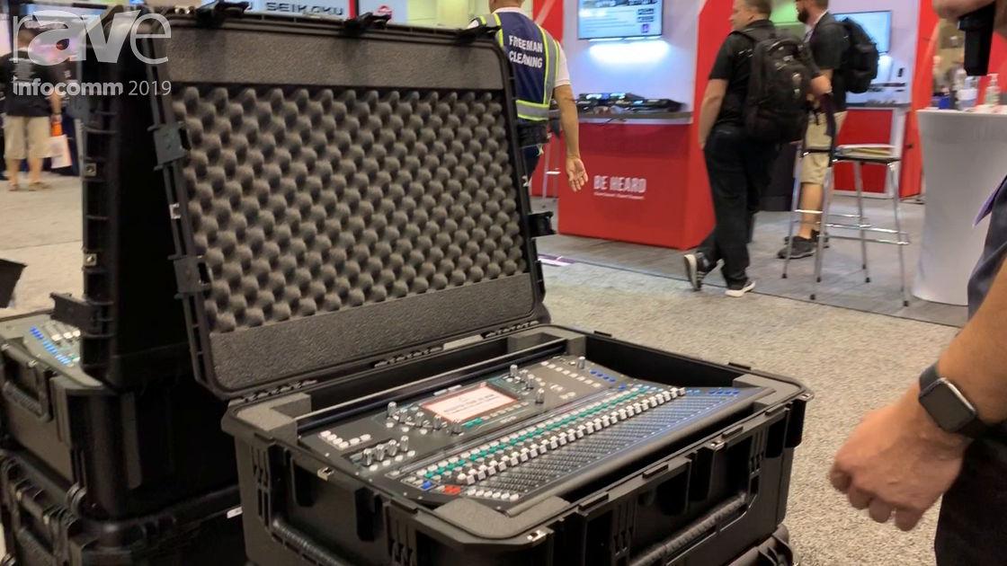 InfoComm 2019: SKB Corporation Features the 3i2922-SQ6 Case for the Allen & Heath SQ6 Mixer
