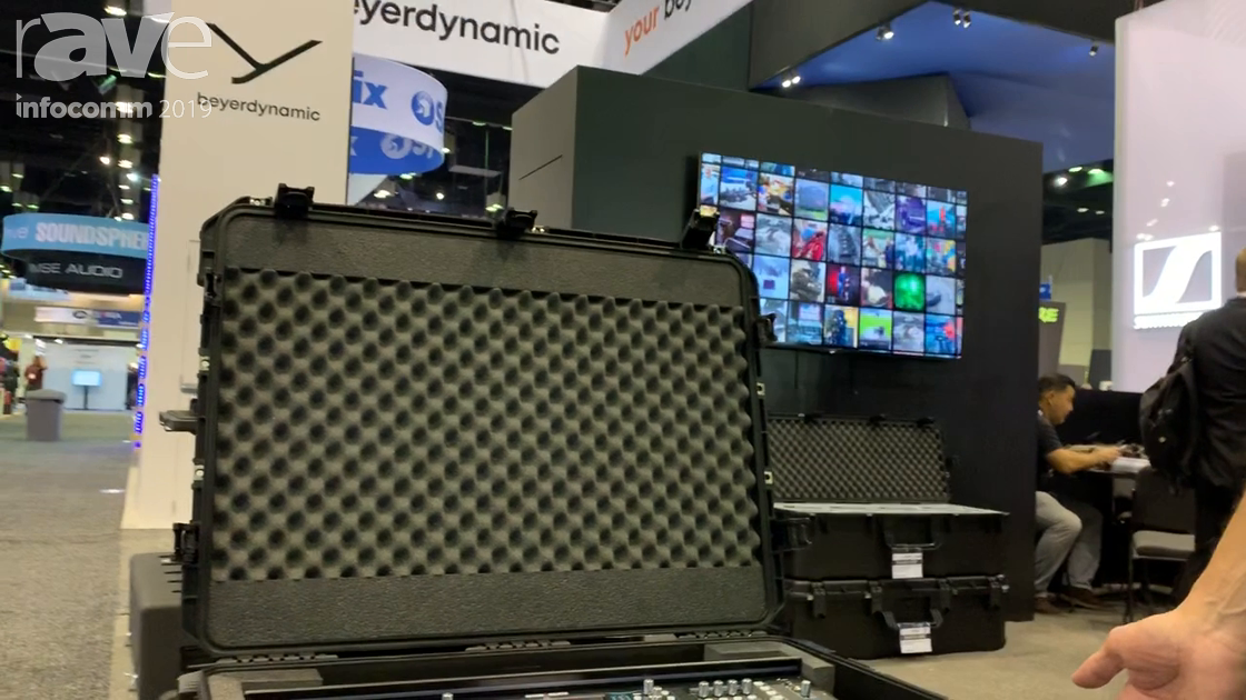 InfoComm 2019: SKB Corporation Intros 3i3424-12SQ7 Case Specifically for Allen & Heath's SQ7 Console