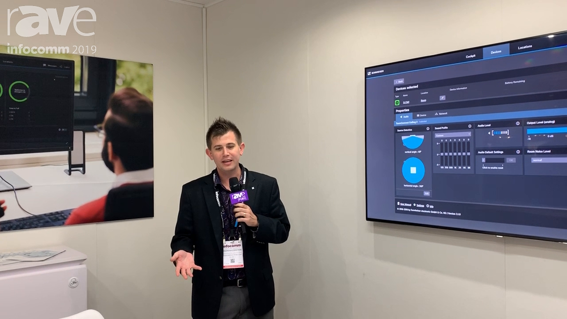 InfoComm 2019: Sennheiser's New TeamConnect Beamforming Ceiling Mic 2 Follows the Loudest Voice