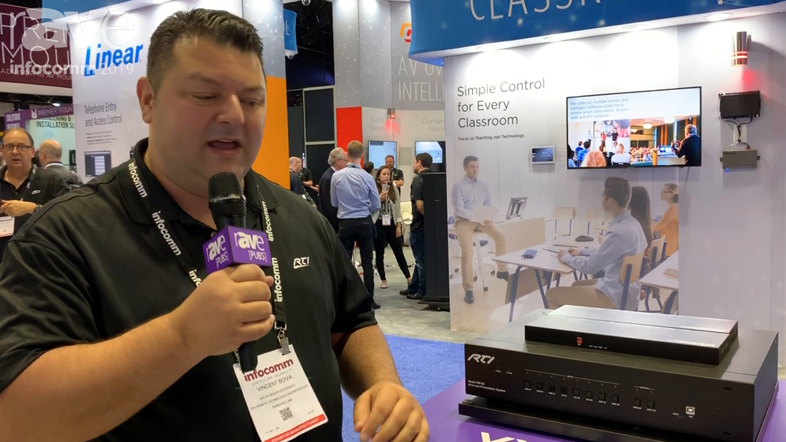 InfoComm 2019: RTI Shows VXP-82 All-in-One Presentation Switcher