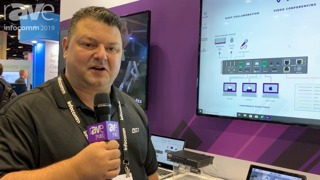 InfoComm 2019: RTI Showcases Its VXU-SC Collaboration Unit