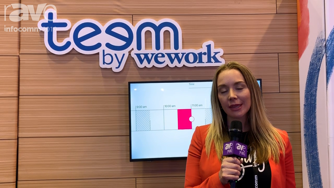 InfoComm 2019: Teem by WeWork Is a Workplace Experience Platform