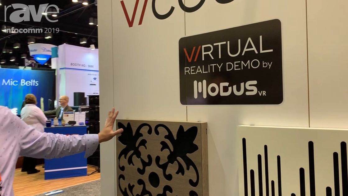 InfoComm 2019: Vicoustic Shows VicPattern Ultra Series of Acoustic Panels at Focal Booth