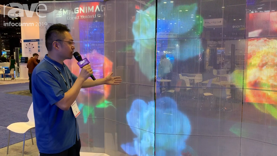 InfoComm 2019: TiegeTech Shows Off Its Adhesive Transparent LED Display