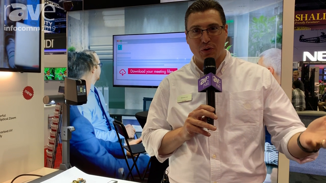 InfoComm 2019: WolfVision Reveals Its New VZ8-UHD 4K Tabletop Visualizer With Optical 16x Zoom