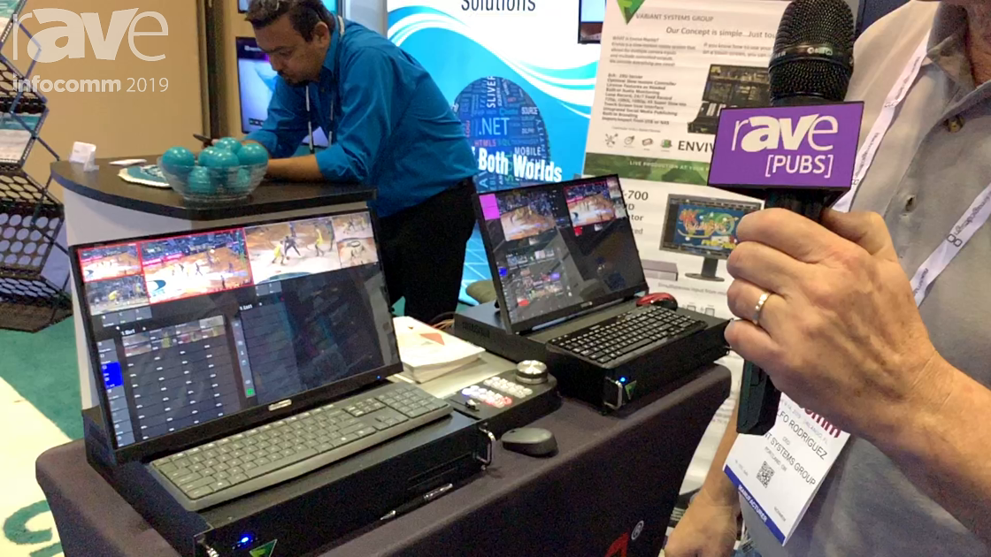 InfoComm 2019: FOR-A America Demos EnvivoReplay System, an Easy-to-Learn Replay System for Sports