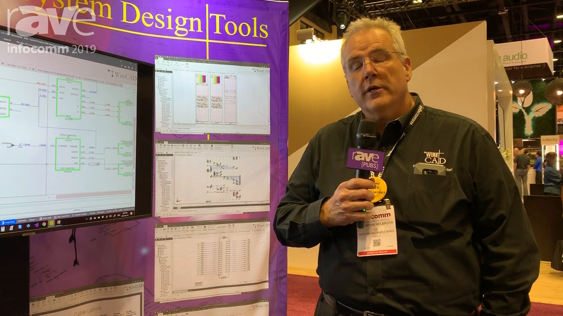 InfoComm 2019: WireCAD Is a Systems Design Tool That Helps Automate the CAD Process