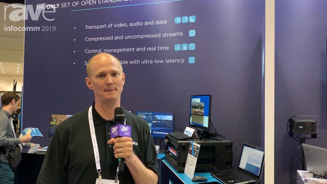 InfoComm 2019: AIMS (Alliance for IP Media Solutions) Is Non-Profit Promoting AV-Over-IP Standard
