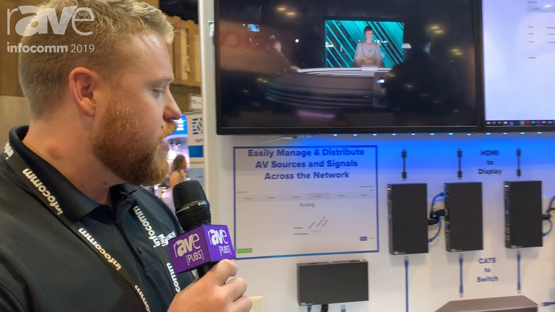 InfoComm 2019: Broadata Communications Features Its AV-Over-IP System Using 1G JPEG2000 Compression