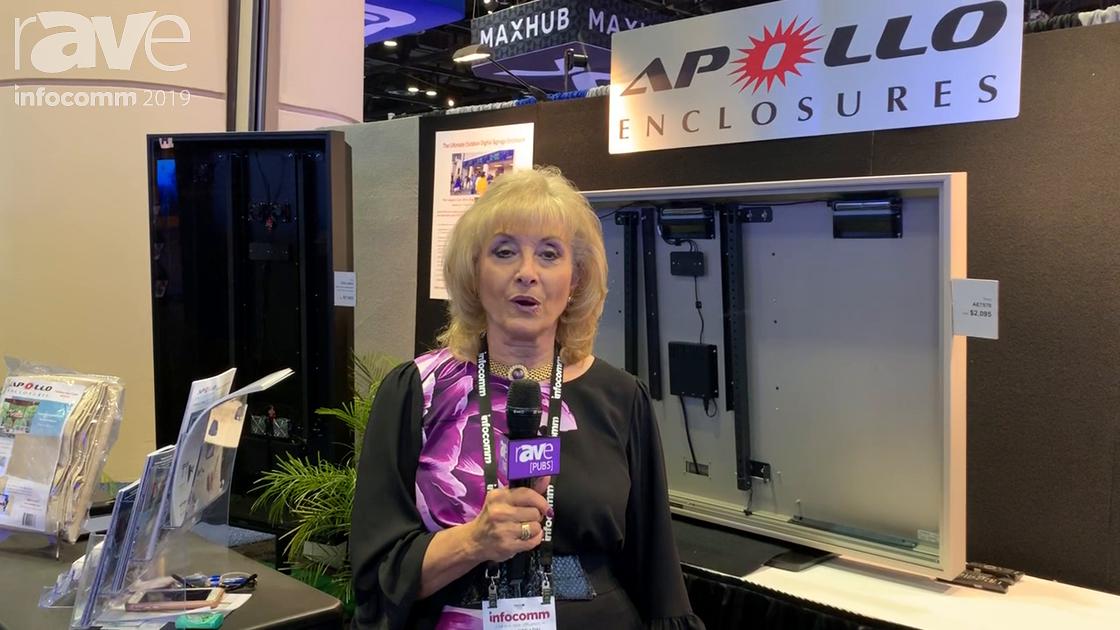 InfoComm 2019: Apollo Enclosures Features AE5550 Elite 55-Inch Outdoor Enclosure
