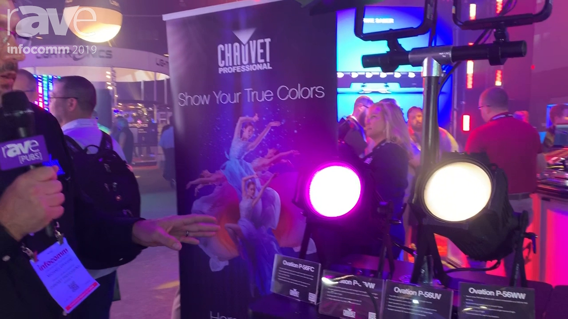 InfoComm 2019: CHAUVET Shows Off Its Ovation P-56 series