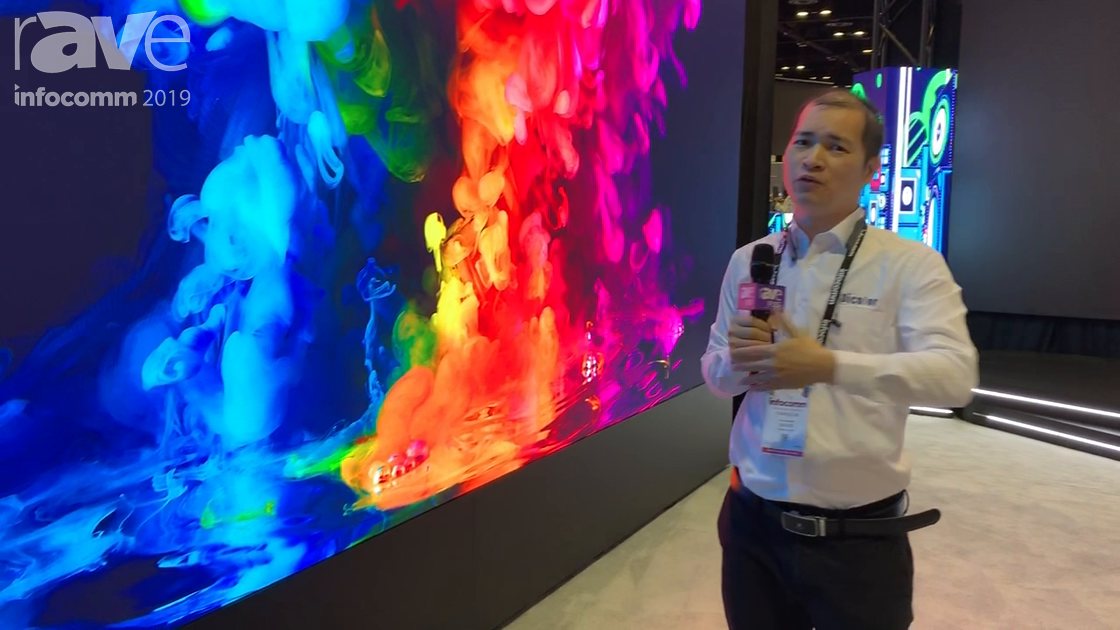 InfoComm 2019: Dicolor Introduces HT Series 4K LED Video Wall