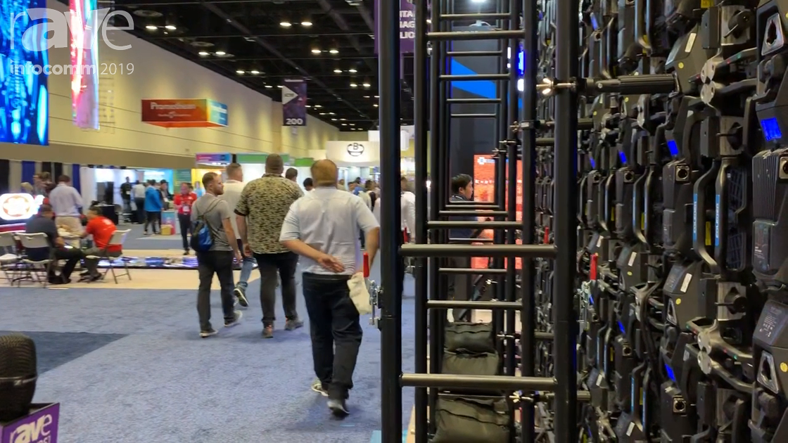 InfoComm 2019: Coleder Showcases Road-Ready Rental LED Display