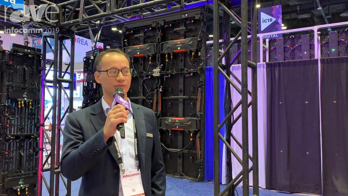 InfoComm 2019: Shenzhen Gloshine Shows Off Its MV 2.97P Curved LED Display