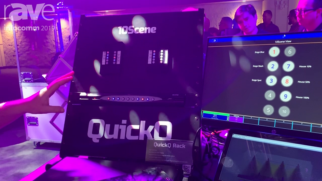 InfoComm 2019: Cham Sys Launches Quick Q Rack Console-in-a-Box for Control