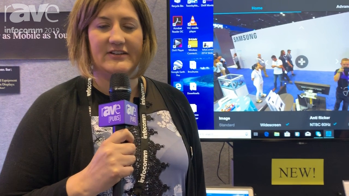 InfoComm 2019: Jelco Showcases Its Rotolift ELU-55Rz for Portable Videoconferencing