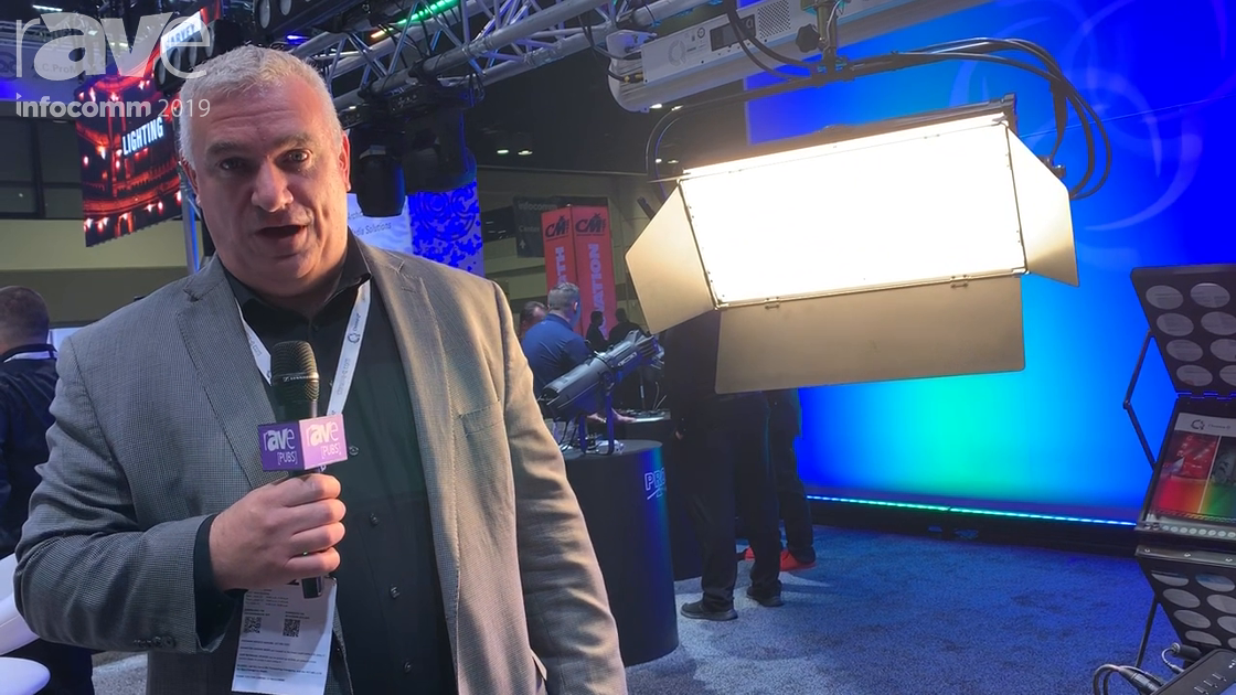 InfoComm 2019: Chroma-Q Intros Space Force 1×2 Soft Panel Light Fixture