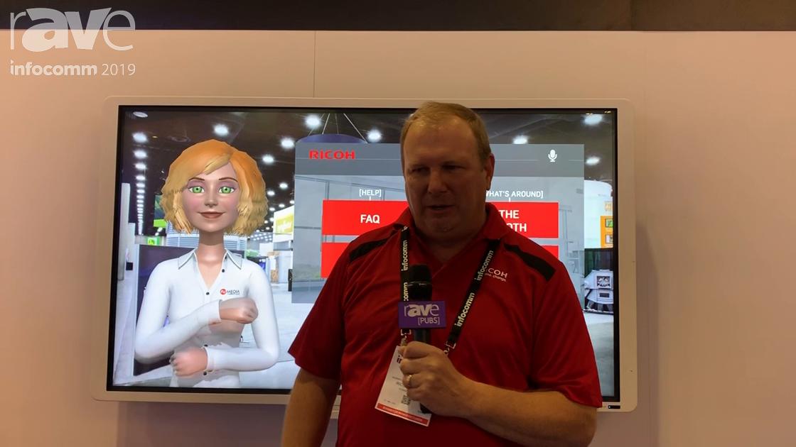 InfoComm 2019: Ricoh USA Demos a Self Service Avatar Assistant