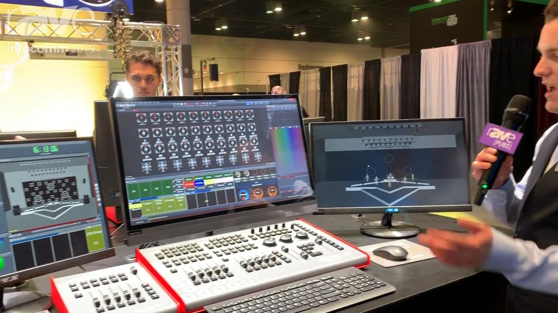 InfoComm 2019: Chroma-Q Demos Vista 3 Lighting and Media Control Software