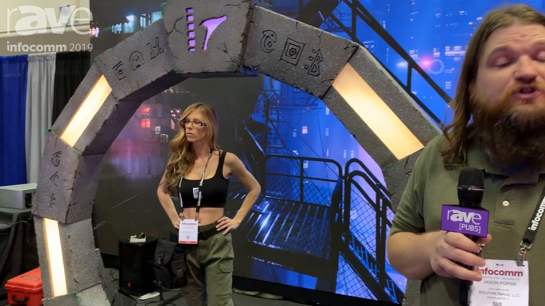 InfoComm 2019: Dolphin Image Studios and ARwall Feature the ARFX System, a Green-Screen Alternative