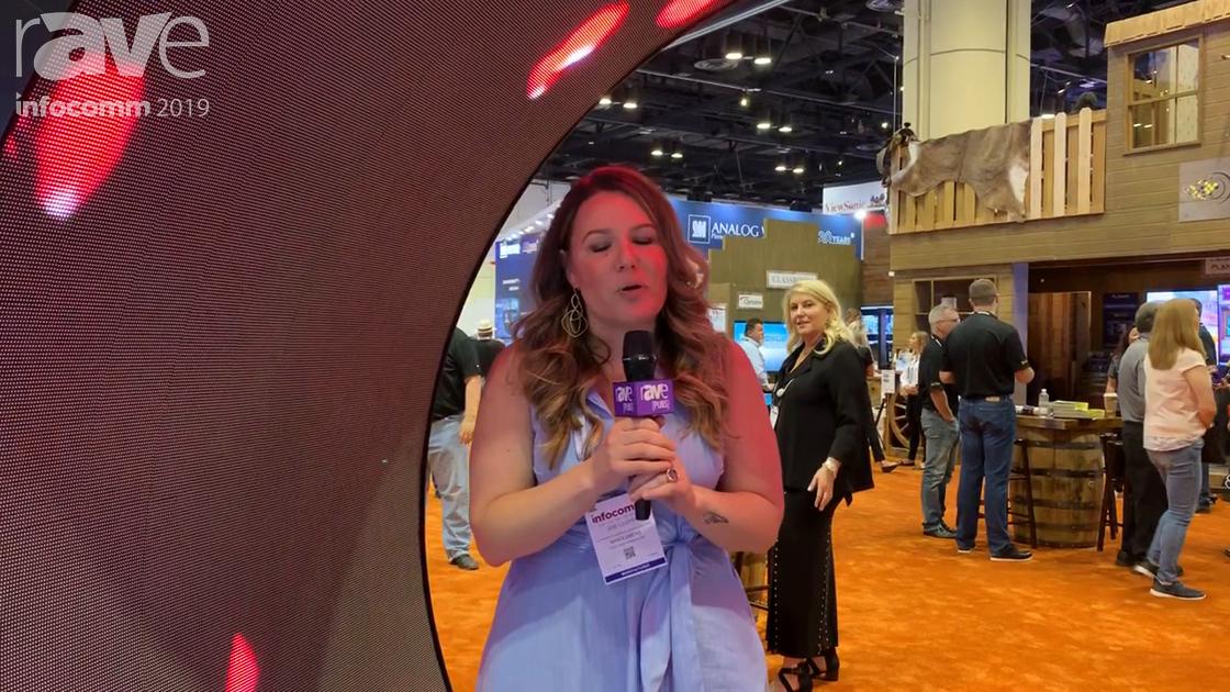 InfoComm 2019: Stampede Distributes NanoLumens' Curved LED Display Tunnel