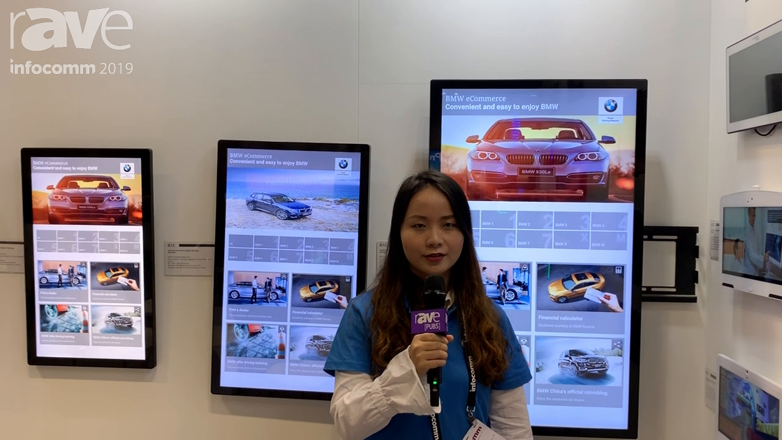 InfoComm 2019: ELC Showcases WH Series of PoE Digital Signage Displays With Android 8