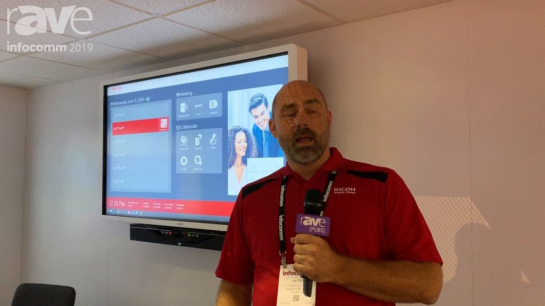 InfoComm 2019: Ricoh Offers Managed-AV-as-a-Solution Ricoh Rooms