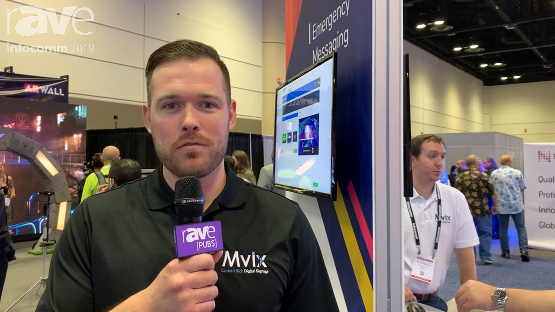 InfoComm 2019: Mvix Digital Signage Includes Emergency Alerts Via CAP Protocol,