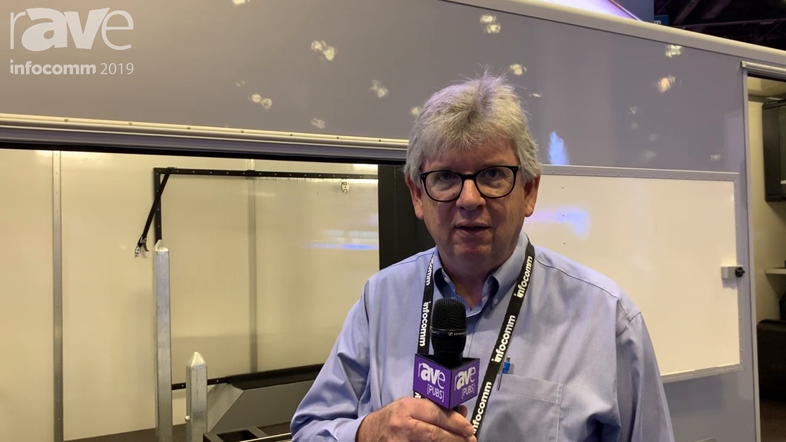 InfoComm 2019: Screen LED Talks About Its Screen LED Portable Trailer