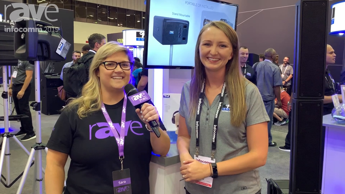 InfoComm 2019: Sara Abrons Talks to Bethany Dineen at Anchor Audio