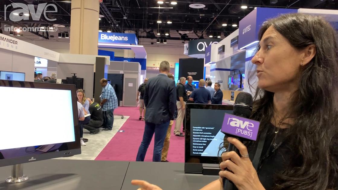InfoComm 2019: Arthur Holm Demos Its Motorized Dynamic Reception Monitor