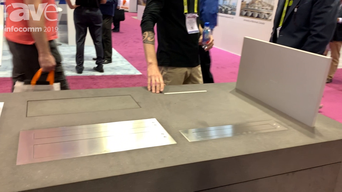 InfoComm 2019: Arthur Holm's Dynamic X2 Barconnect Combines Retractable Monitor and Connectivity