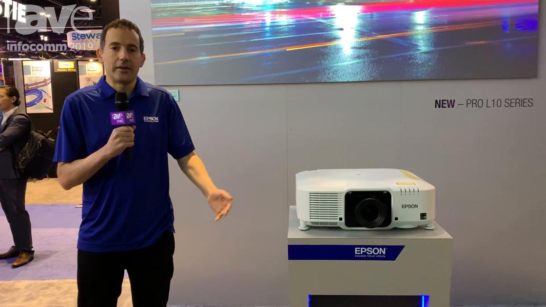 InfoComm 2019: Epson Unveils Pro L10 Series of Compact Laser Projectors With Interchangeable Lenses