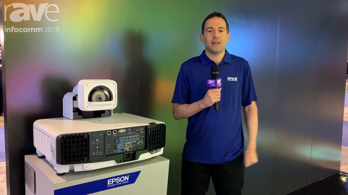 InfoComm 2019: Epson Shows the Pro L1750UNL and ELPLX02W Projectors With Ultra Short Throw Lens