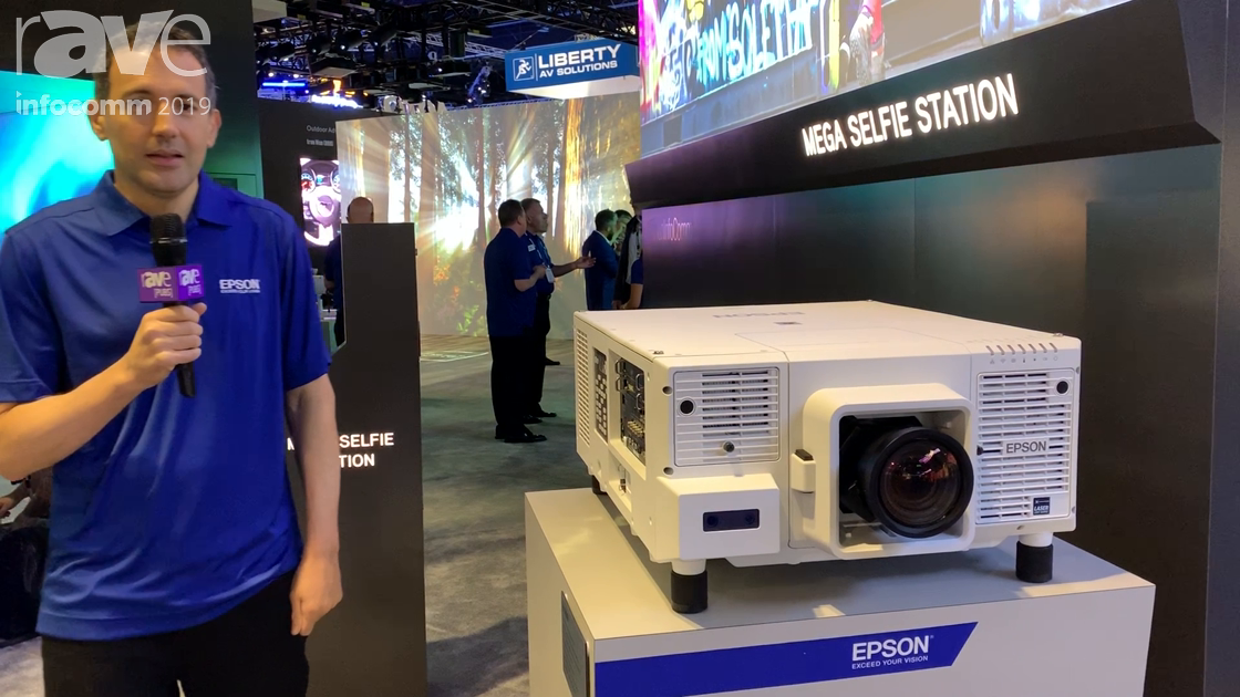InfoComm 2019: Epson Highlights the Pro L20000U Laser Projector With Two Interface Cards