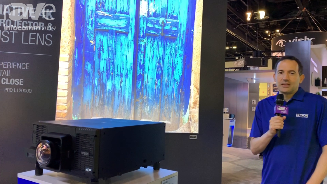 InfoComm 2019: Epson Intros New Pro L12000Q Native 4K Laser 3LCD Projector