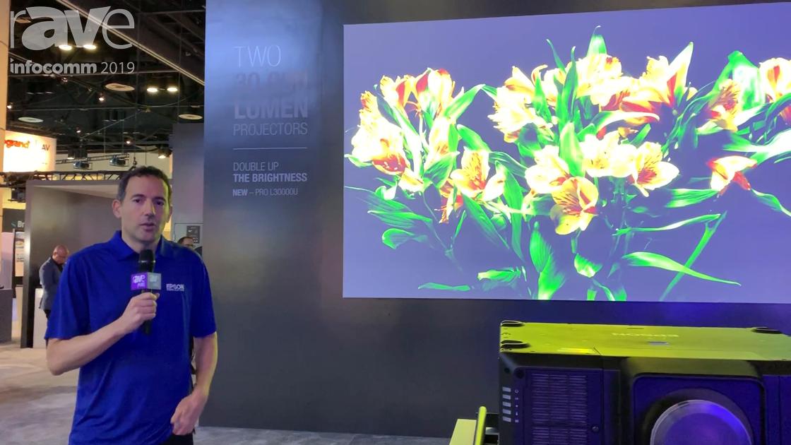 InfoComm 2019: Epson Showcases New 30,000-Lumen 4K Pro L30000U Projector