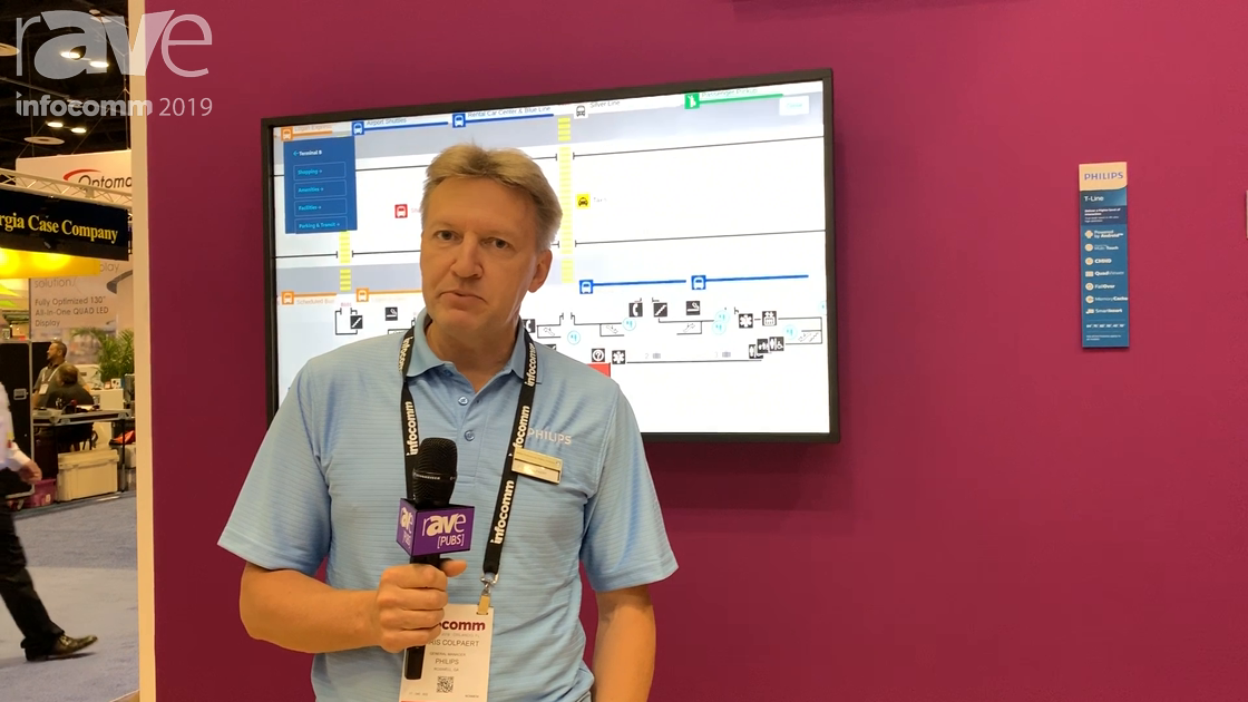 InfoComm 2019: Philips Upgrades D-Line Display Line With Android SoC and Third-Party Partnerships