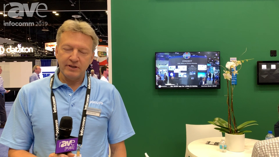 InfoComm 2019: Philips Demos Partnership With Crestron and RGB Spectrum for Video-Over-IP