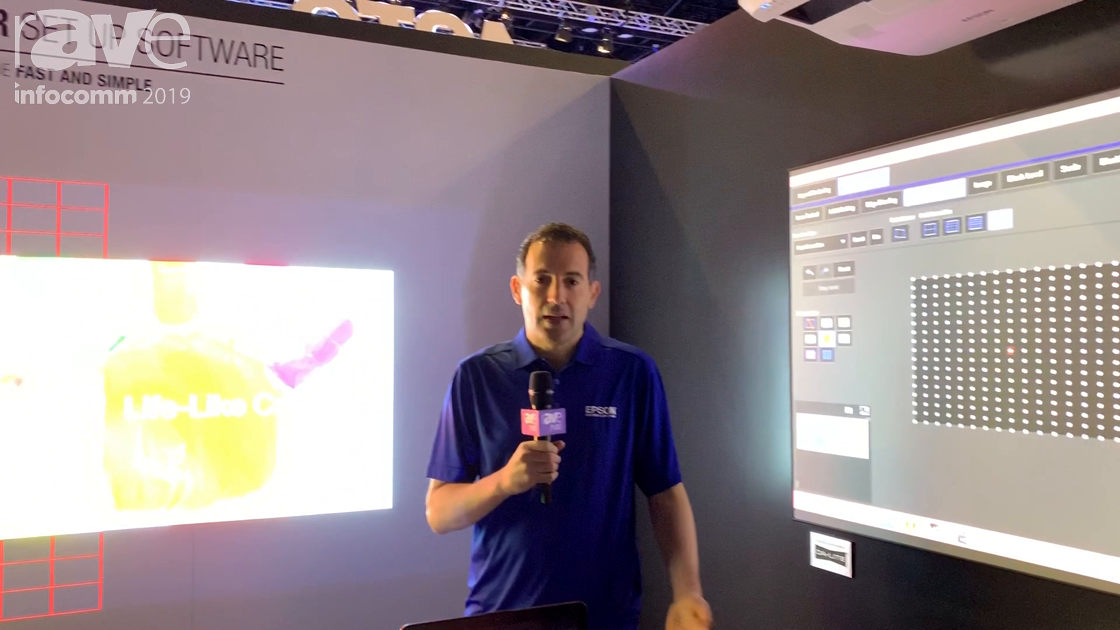 InfoComm 2019: Epson Shows Projector Professional Software Tool for Controlling Network Projectors
