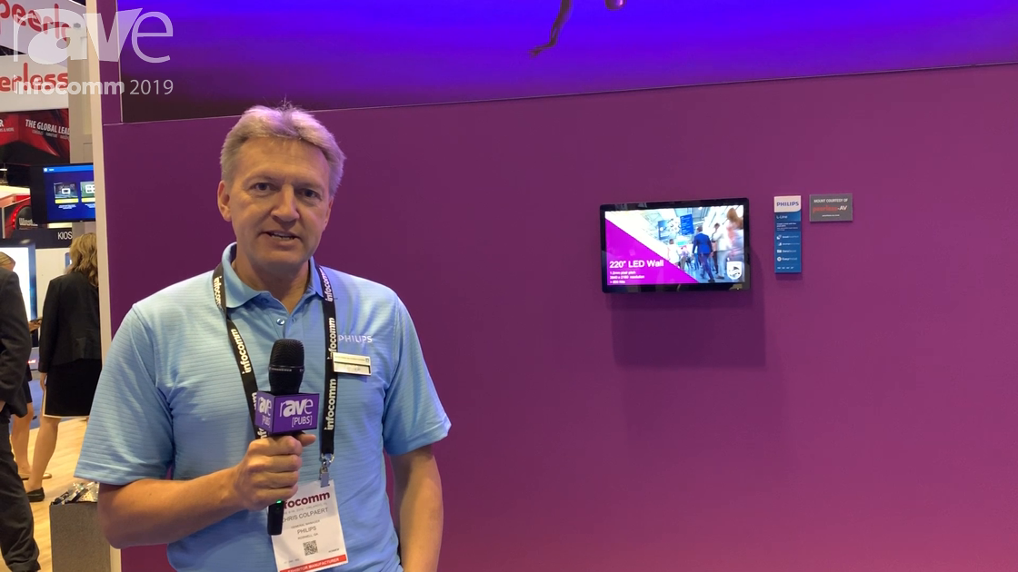 InfoComm 2019: Philips Enters the Direct View LED Market, Intros 1.2mm-4.8mm Indoor LED Displays