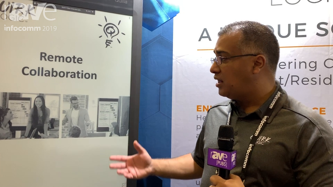 InfoComm 2019: QuirkLogic Demos Remote Collaboration With Quilla E-Ink Display and Quilla Connect