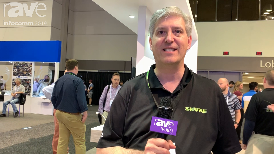 InfoComm 2019: Shure Now Has Its ULXD and MXW Wireless Microphones Available in Bright White