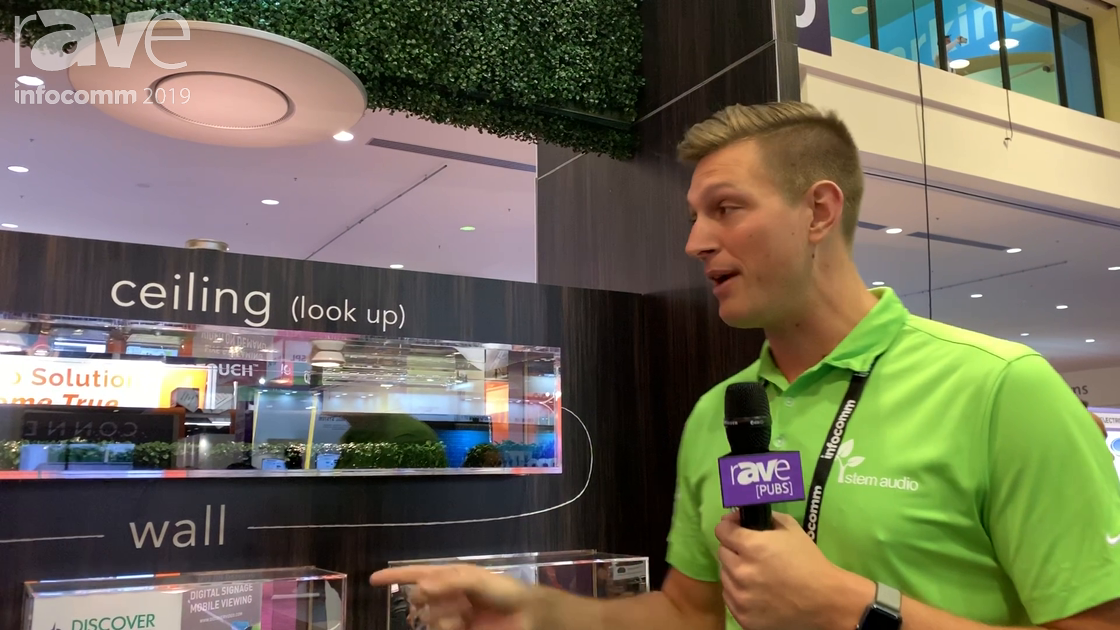 InfoComm 2019: Stem Audio Gives a Product Overview of Audio Solutions for Conference Rooms