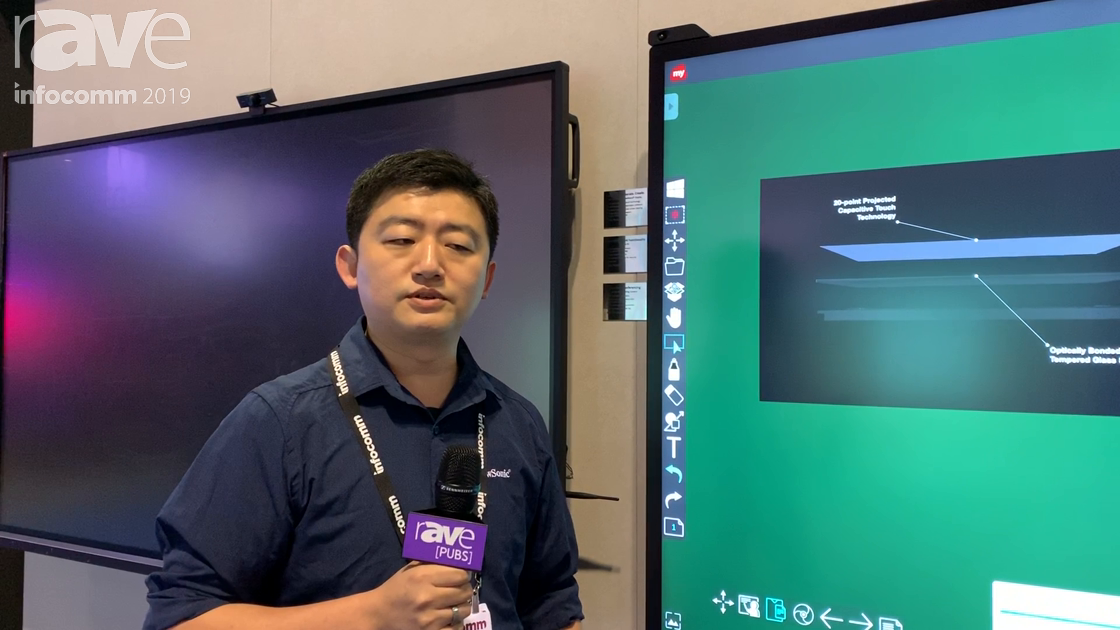 InfoComm 2019: ViewSonic Unveils the IFP8670 Bezel-less PCAP Interactive Touch Display