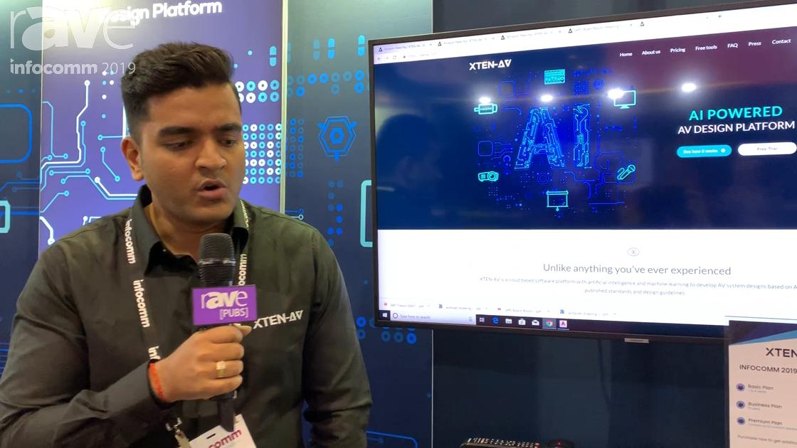 InfoComm 2019: XTEN-AV Software Allows You to Design AV Systems, Automate AV Drawings and Documents